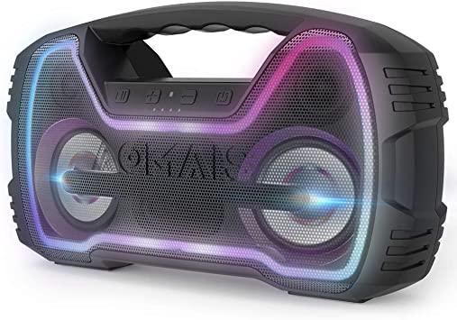 Bluetooth Speakers Party Sport Waterproof Outdoor Wireless Speaker,Portable Loud Stereo Super Deep Bass Sound for Travel Home Beach Camping