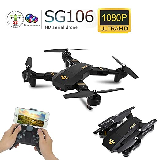 Drones Visuo XS809W XS809HW Quadcopter Mini Plegable Selfie WiFi ...