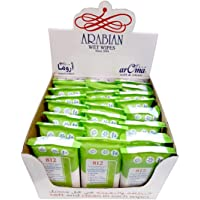 24 Packs Aroma Anti-Bacterial Wipes