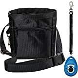 #9: Zacro Dog Treat Training Pouch Bag with Adjustable Strap and One Set of Training Clicker