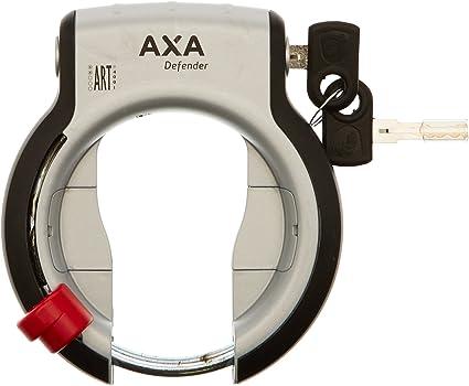 AXA Rahmenschloss Defender RL silber//schwarz silber//schwarz