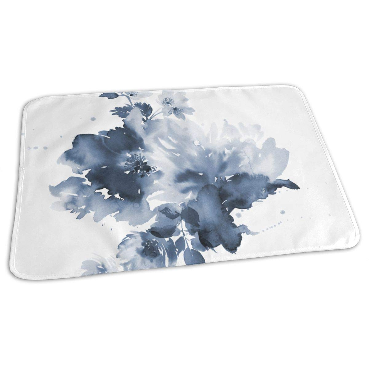 Osvbs Lovely Baby Reusable Waterproof Portable Ink Painting Changing Pad Home Travel 27.5''x19.7'' by Osvbs