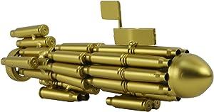 TG,LLC Treasure Gurus Gun Bullet Casings Shells Shaped Model Navy Diving Sub Submarine Military Gift