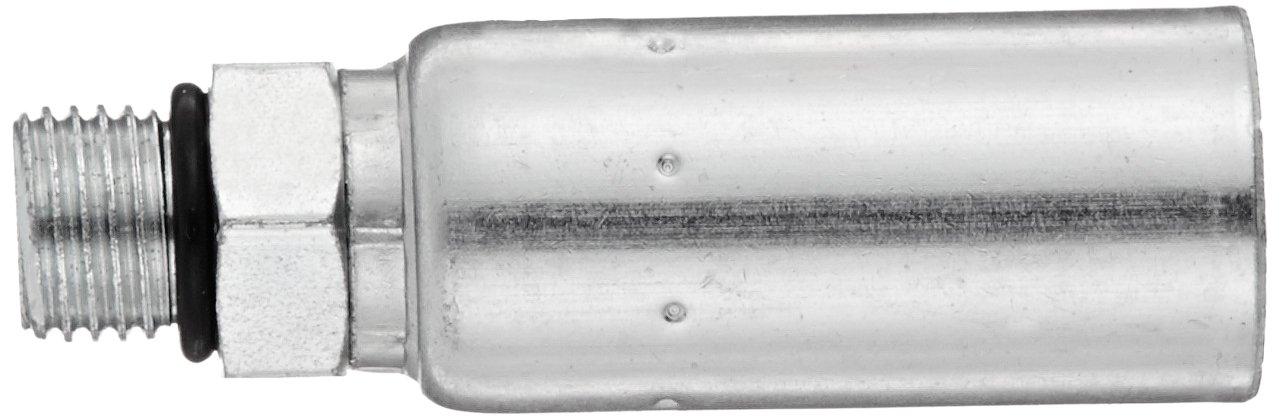 EATON Weatherhead Coll-O-Crimp 06U-P08 Male Right Fitting 1//2 Tube Size 3//8 Hose ID Low Carbon Steel Straigh Thread O-Ring