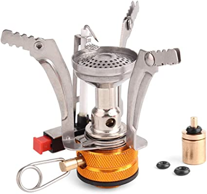 FUNEW Folding Camping Stove Ultra Light Portable Pocket Backpacking Stove