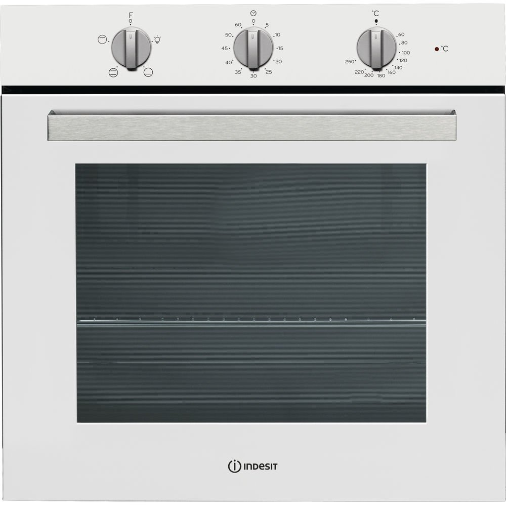 Medium, Oven Electric, 71/L, 71/L, 1500/W, White Indesit IFW 6230/WH Oven/ /