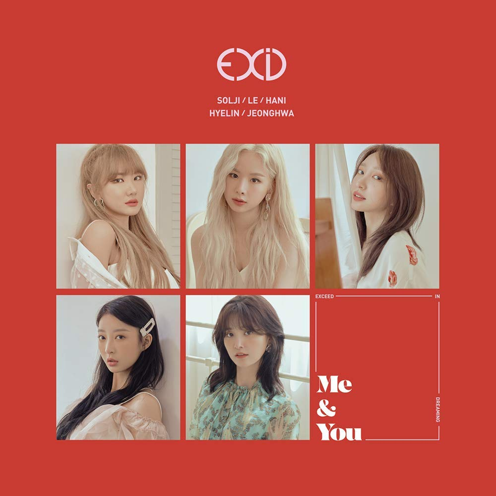 KPOP EXID - 5th Mini Album, WE, CD + Photobook + Standing Doll + Photocard + Folded Poster + Extra PhotoCards Set by Banana Culture