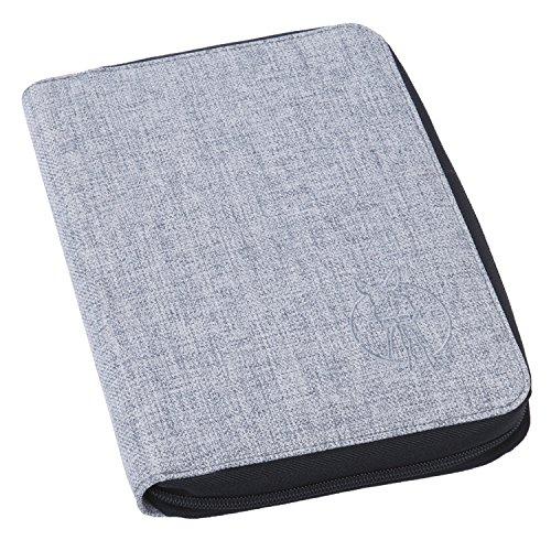 Lässig LDP601 - Portadocumentos, color gris/negro