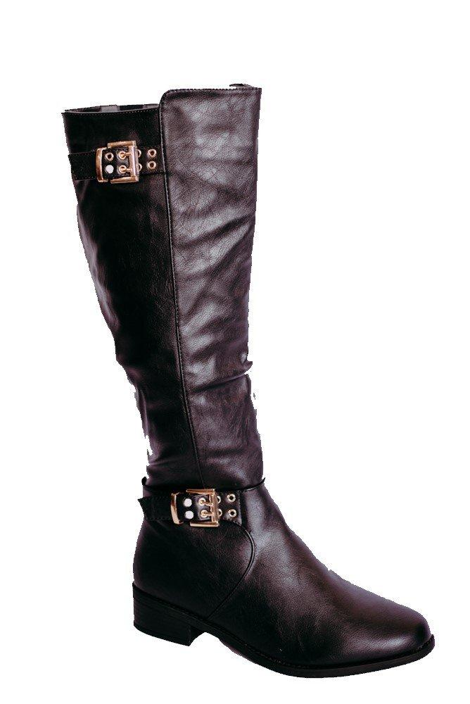 Top Moda Sperry-5 Women's Knee-High Boot (10, Black)
