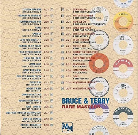 Rare Masters Bruce Terry Amazon Music