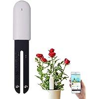 VegTrug Flower Care-Bodemmeter, Slimme Bluetooth-Plantmonitor 4-in-1 Bodemtester Controleert Automatisch Vocht- / Licht…