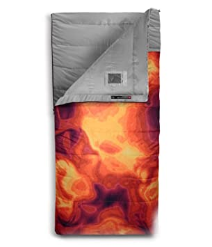 The North Face Homestead Doble 20/-7 Saco de Dormir, Tibetan Orange Heat Map Print/High Rise Grey: Amazon.es: Deportes y aire libre