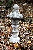 Japanese Three Piece Pagoda Garden Ornament Stone Statue Lantern