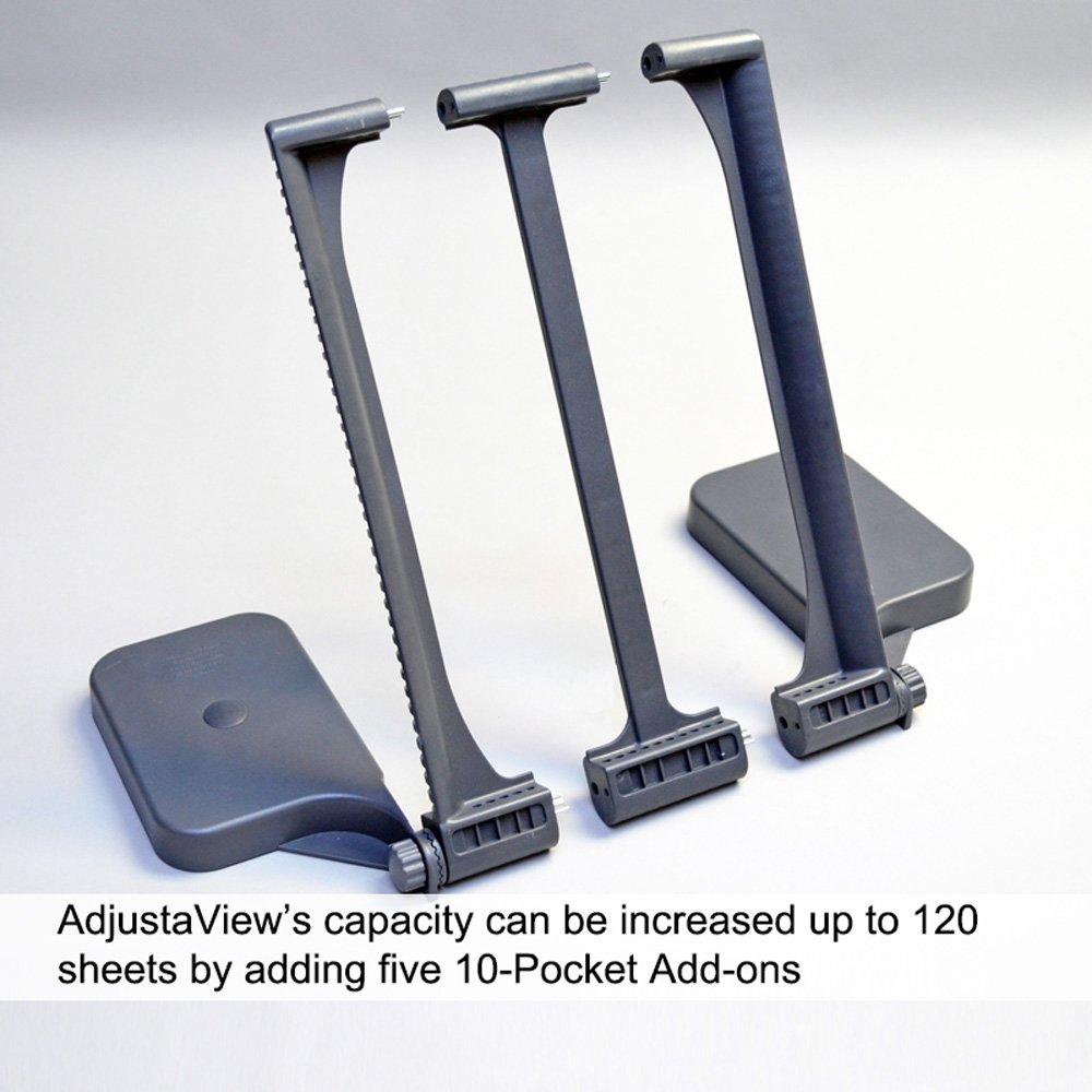 Ultimate Office AdjustaView 20-Pocket Desk Reference Organizer by Ultimate Office (Image #8)