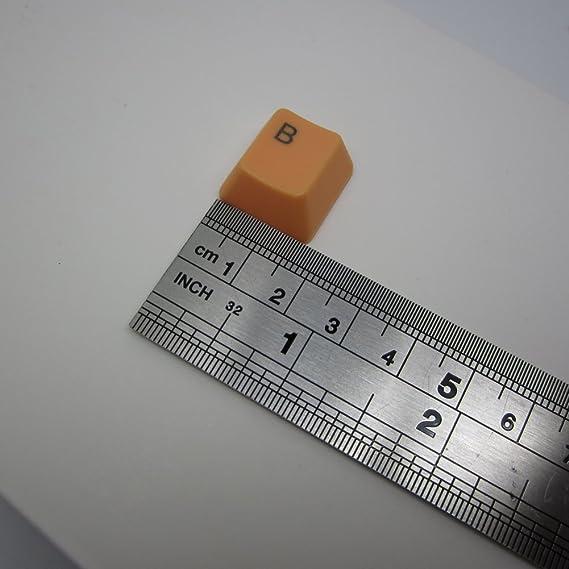 Feicuan 37 Keys Cap Cover Case ABS Colorful Replacement Keycap Universal para Teclado mecánico -Light Color