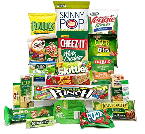 St Patricks Day Care Package| St Patty's Day Candy Kids, St Pattys Snack Box| Gift for Col ...
