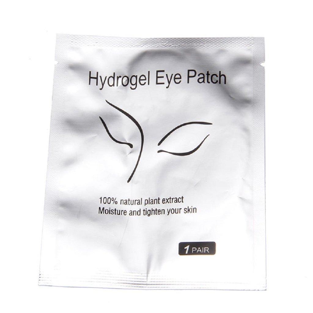 Lamdoo 1 Pair Lot Beauty Eyelash Pad Gel Patch Lint Free Lash Extension Eye Mask