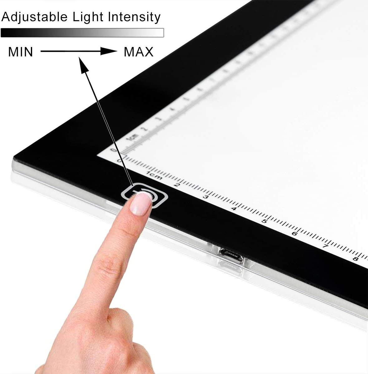 Stencil Sketching A3 LED Tracing Light Box USB Powered Ultra-Thin 19 inch Drawing Light Pad for Tattoo Drawing