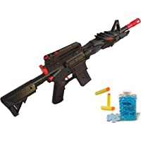 IndusBay® 2 in 1 Soft Bullets and Water Crystal Bullets PUBG M416 Toy Gun - M24 Sniper Toy Gun Toy for Kids