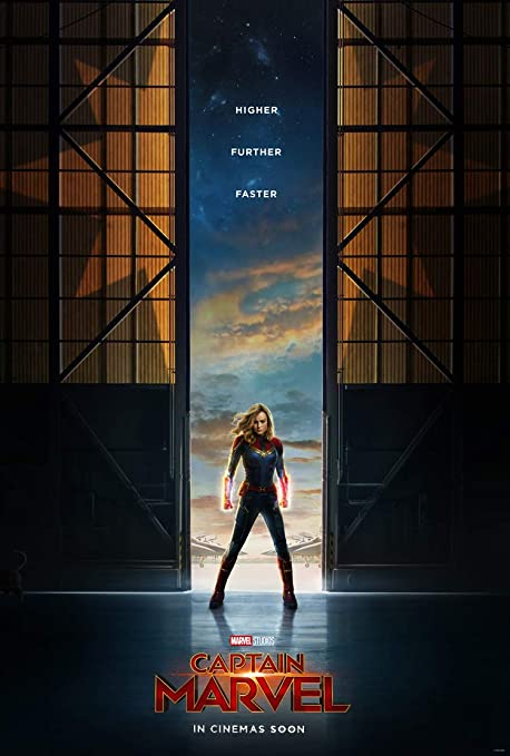 Image result for captain marvel movie poster