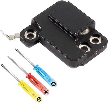 MMOBIEL Soporte para Antena WiFi Repuesto Compatible con iPhone 7 Plus Cubierta de retención WiFi WLAN Incl Herramientas