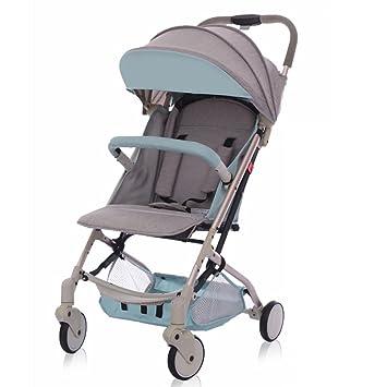 CDREAM Cochecito Ultraligero Portátil Puede Sentarse Reclinable Bebé Plegable Simple Bolsillo Mini Paraguas Carro Plegable Cochecito