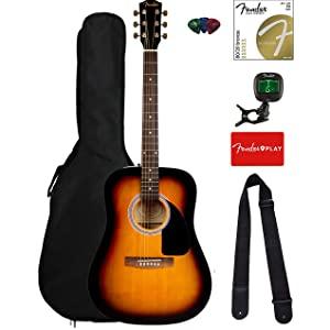 Fender FA 115 Acoustic Guitar For Beginner Adults