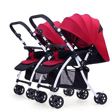 Baby carriage Peaceip Cochecito de bebé Gemelo, Carro ...