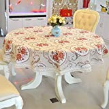 JYXJJKK Household Table dust Cloth,Desktop Decoration-C 110x160cm(43x63inch)