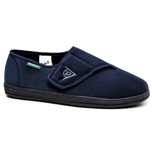 Dunlop - Zapatillas de estar por casa para hombre azul azul marino: Amazon.es: Zapatos y complementos