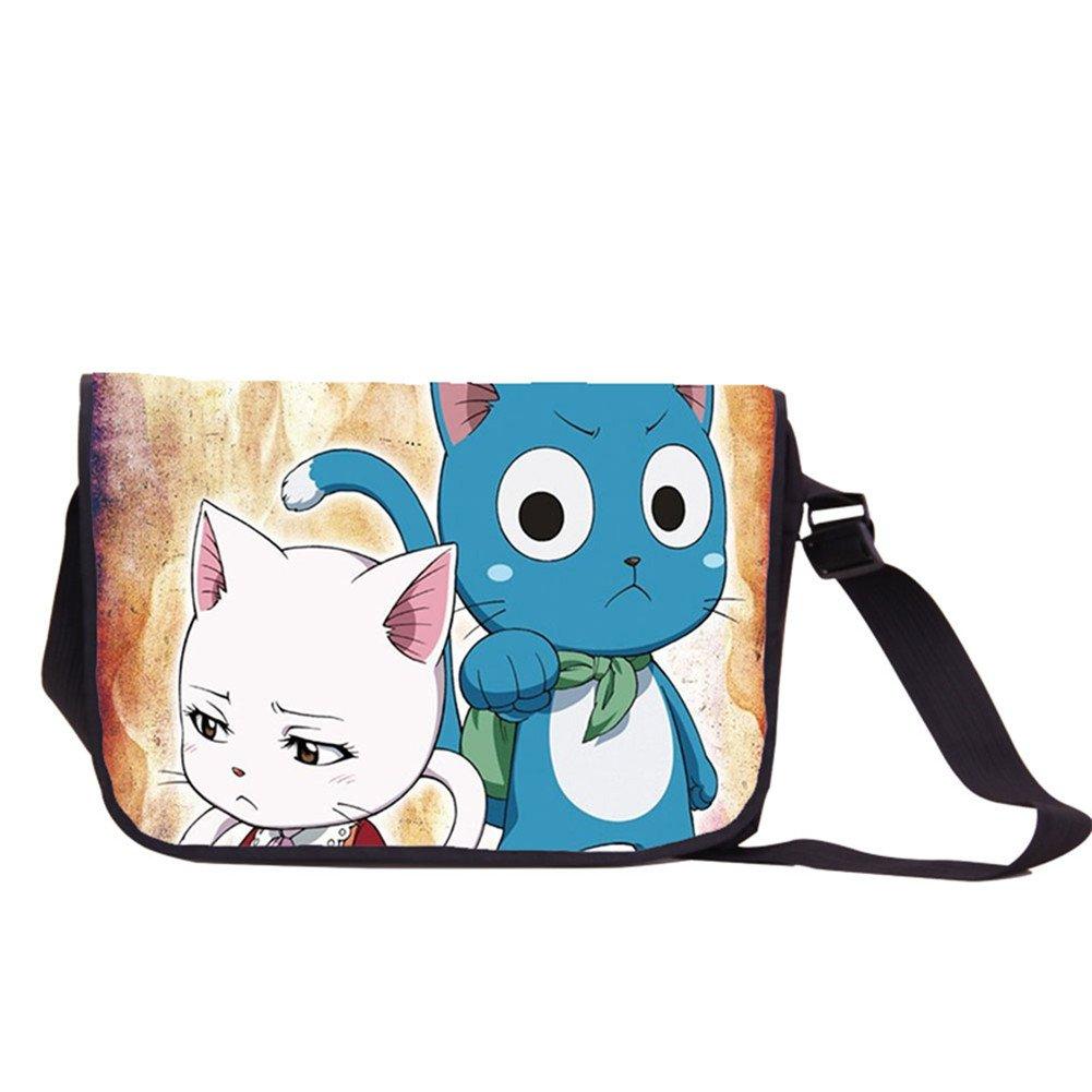 Siawasey Fairy TailアニメFtコスプレハンドバッグメッセンジャーバッグバックパックショルダーバッグ B073VKBJWQ