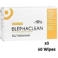 60 BLEPHACLEAN Sterile Eyelid Wipes For BLEPHARITIS