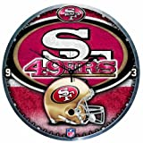 NFL San Francisco 49Ers High Definition Clock