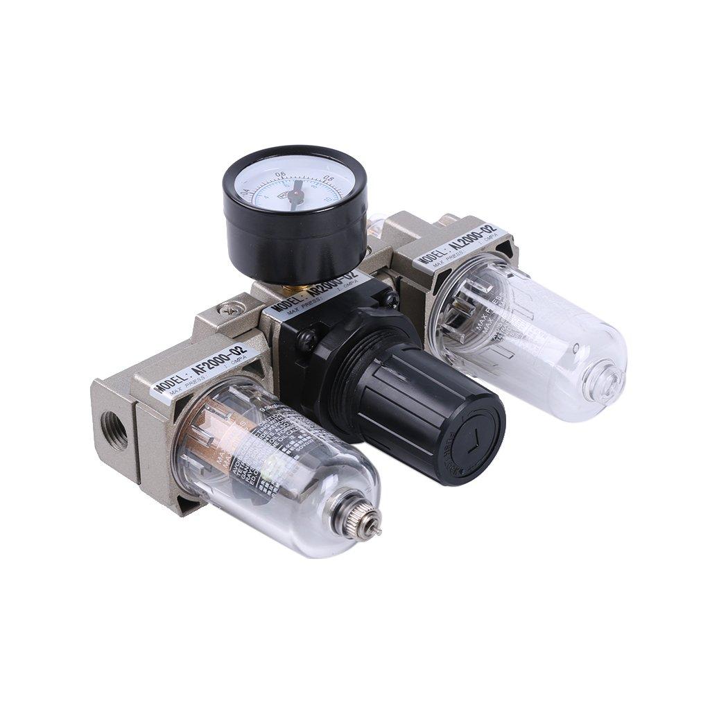 Gazechimp Regulador de Filtro Aire Herramientas Neumática Componente Accesorios de Herramienta Eléctrica