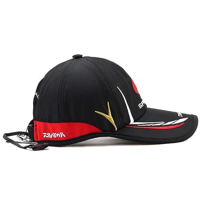 95ffc6e57adec Chad Hope Fishing Cap Adult Men Adjustable Breathable Fishing Daiwa Japan  Sunshade Sport Baseball Fisherman Hat at Amazon Men s Clothing store