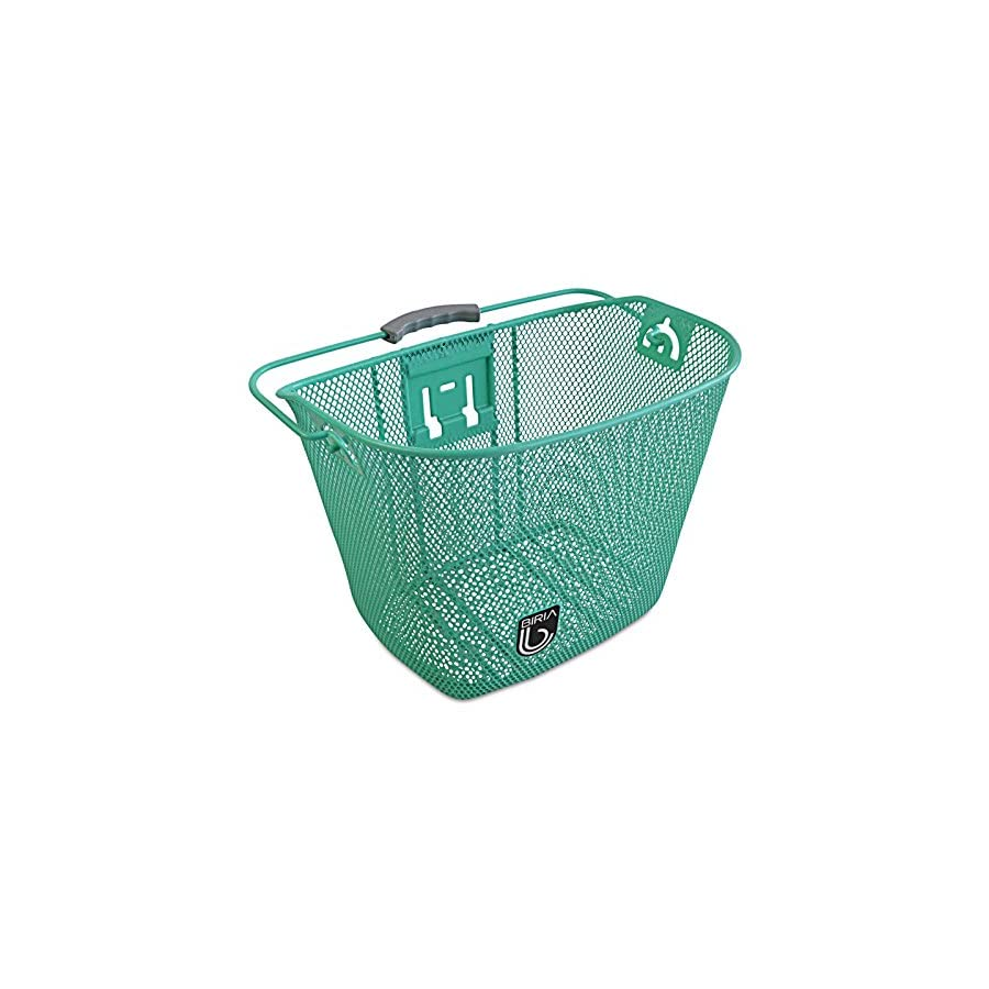 Bicycle Basket with Bracket Green, Front Quick Release Basket ...