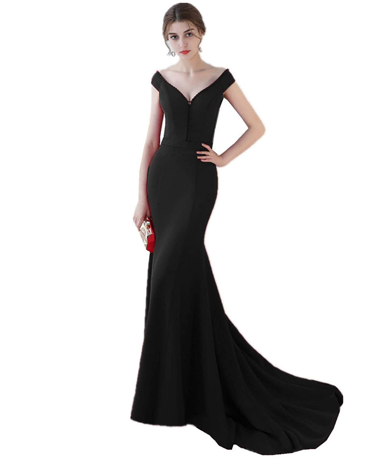 XSWPL Womens Elegant Mermaid Prom Dress Long Formal Evening Party Gowns at Amazon Womens Clothing store: