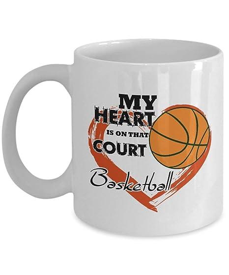 21328 Taza de café de 11 oz Baloncesto Baloncesto Papá Mi estrella ...