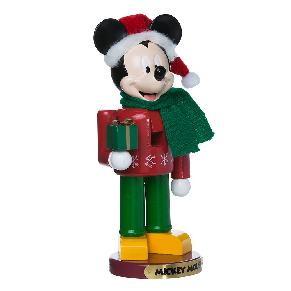 Kurt Adler DN6171L 10'' Mickey Mouse Nutcracker