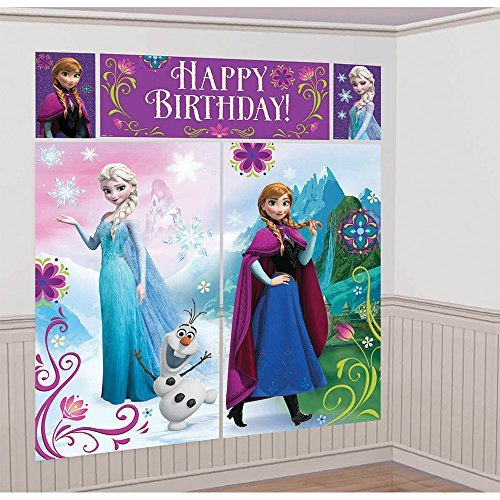 Disney Frozen Scene Setter - Birthday and Theme Party Supplies]()