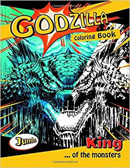 Godzilla Coloring Book Ultimate Coloring Book With Exlusive