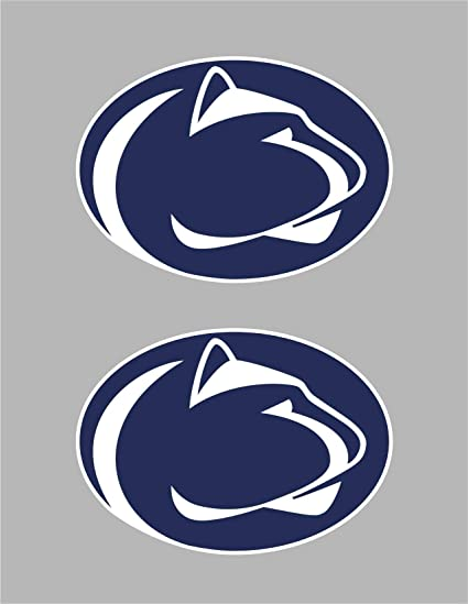 Amazon Com Set Of 15 Penn State Vinyl Sticker Decal For