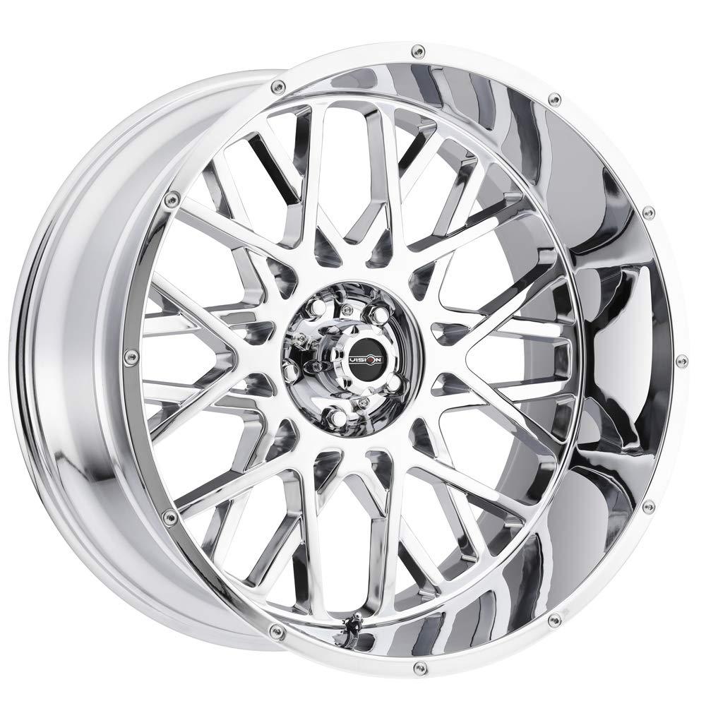 Vision 412 Rocker 22x12 6x5.5-51mm Chrome Wheel Rim 22 Inch