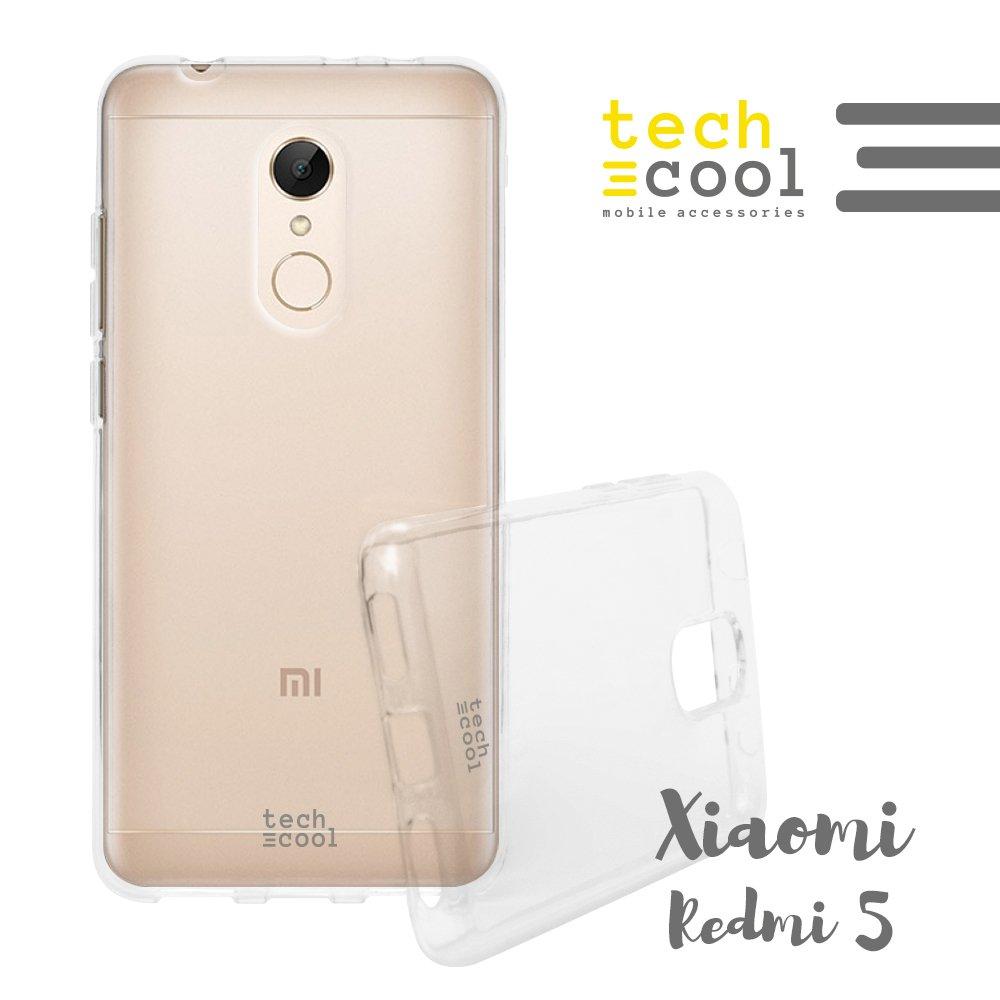 Tampa Xiaomi redmi 5 Silicone FunnyTech® (TPU) para Xiaomi redmi 5 o FLEXÍVEL, fina (espessura 1,5mm) transparente, anti-choque. Qualidade que impede o amarelecimento