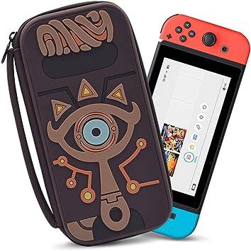Kafen Bolsa De Almacenamiento,Bolsa De Almacenamiento De Accesorios De La Funda De Transporte Nintendo Switch para Nintendos Switch Estuche De Viaje Portátil para La Consola De Nintendo Switch: Amazon.es: Electrónica