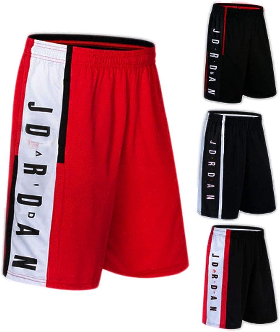 WX Mens Basketball Shorts Quick-Drying Pants Large Size Loose Shorts Football Shorts Running Fitness Shorts