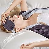 ELLESILK Mulberry Silk Sleep Eye Mask, Eye Cover