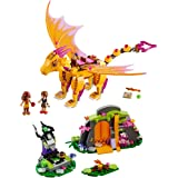 LEGO Elves Fire Dragon's Lava Cave 41175 Creative Play Toy 8- to 12-Year-Olds