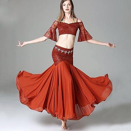 Amazon.com: Xueyanwei - Vestido de danza del vientre para ...