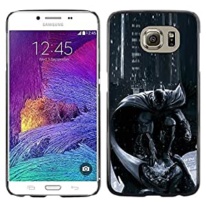 Exotic-Star ( Pc Console Character Grey Black ) Fundas Cover Cubre Hard Case Cover para Samsung Galaxy S6 / SM-G920 / SM-G920A / SM-G920T / SM-G920F / SM-G920I